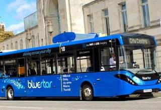 В Великобритании запустили автобус, очищающий воздух