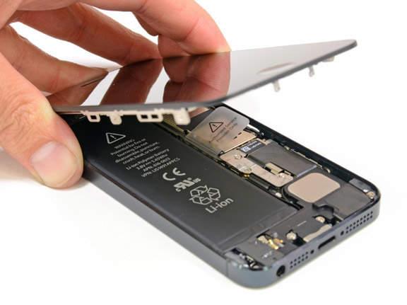 Руководство по замене экрана на смартфоне iPhone 5