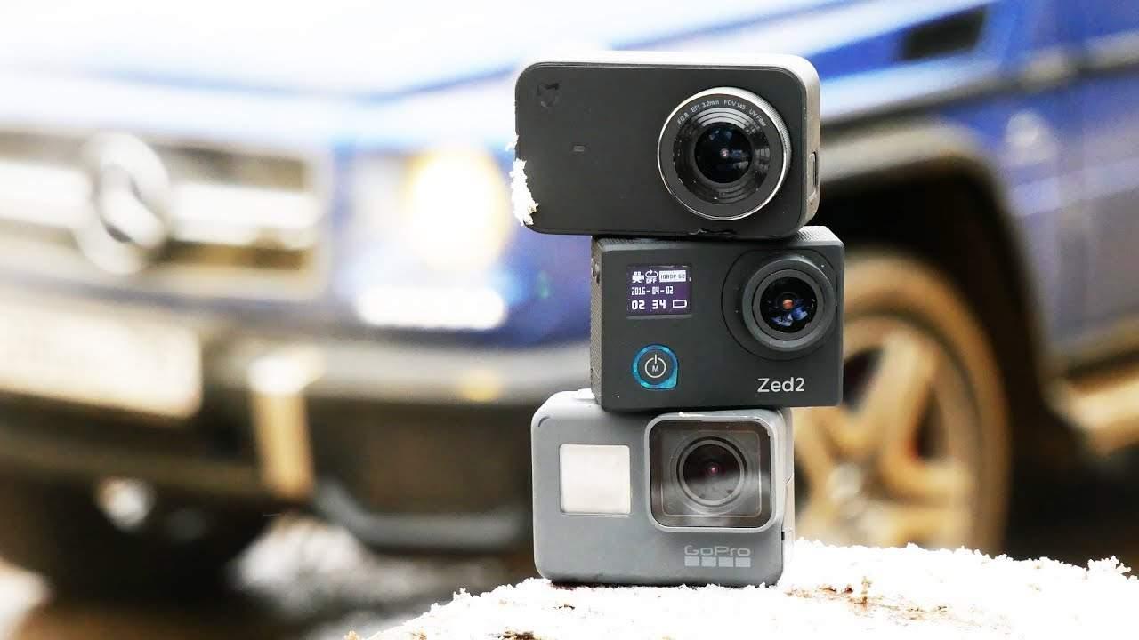 Ключевые достоинства современных экшн-камер