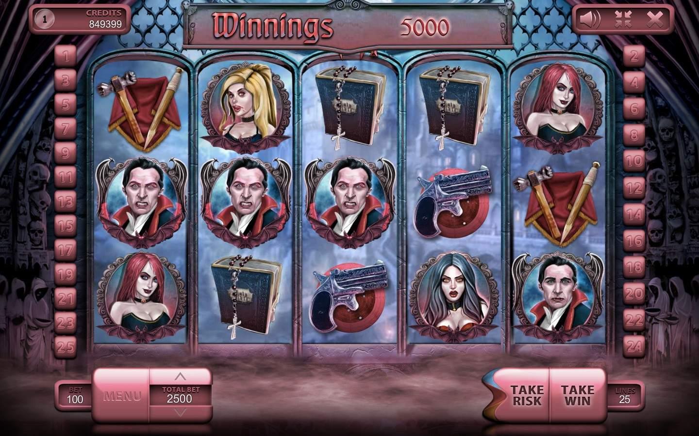 The Vampires – игровой слот о вампирах в Roxcasino!