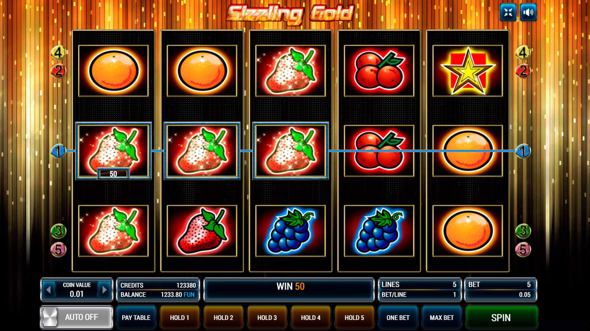 Burning Cherry HD от игорного заведения Корона