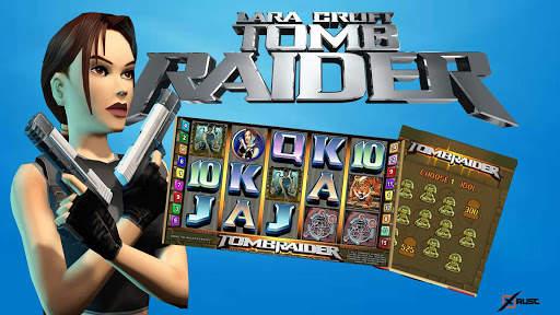 Как играть в автомат Tomb Raider на сайте казино Франк