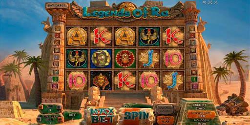 Ключевые характеристики игры Legend of Ra из казино Rox